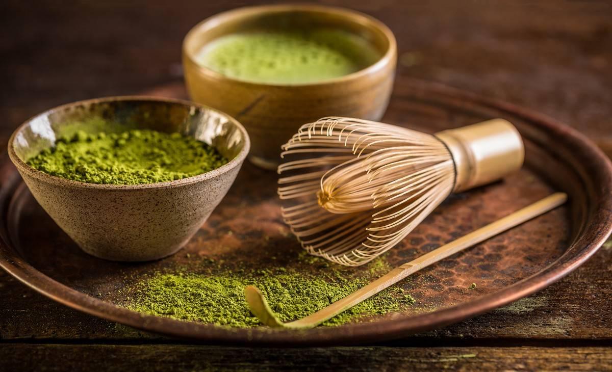 Cérémonie japonaise du thé matcha